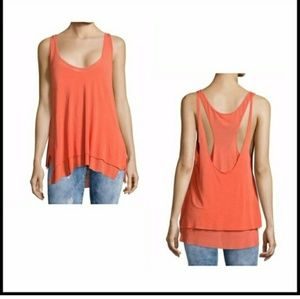 We The Free Coral Karmen Tank size small